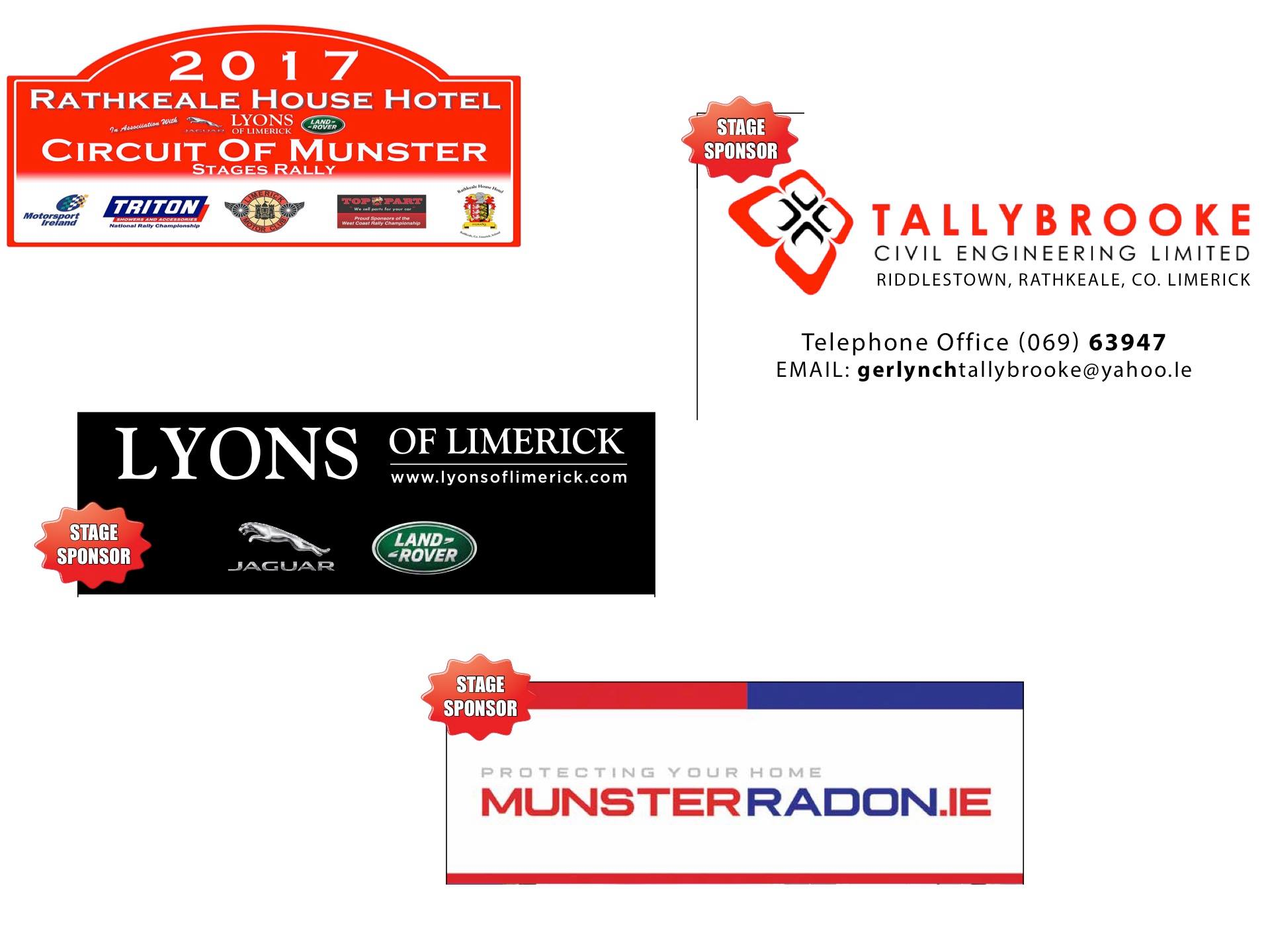 Stage Sponsors 1 2 3