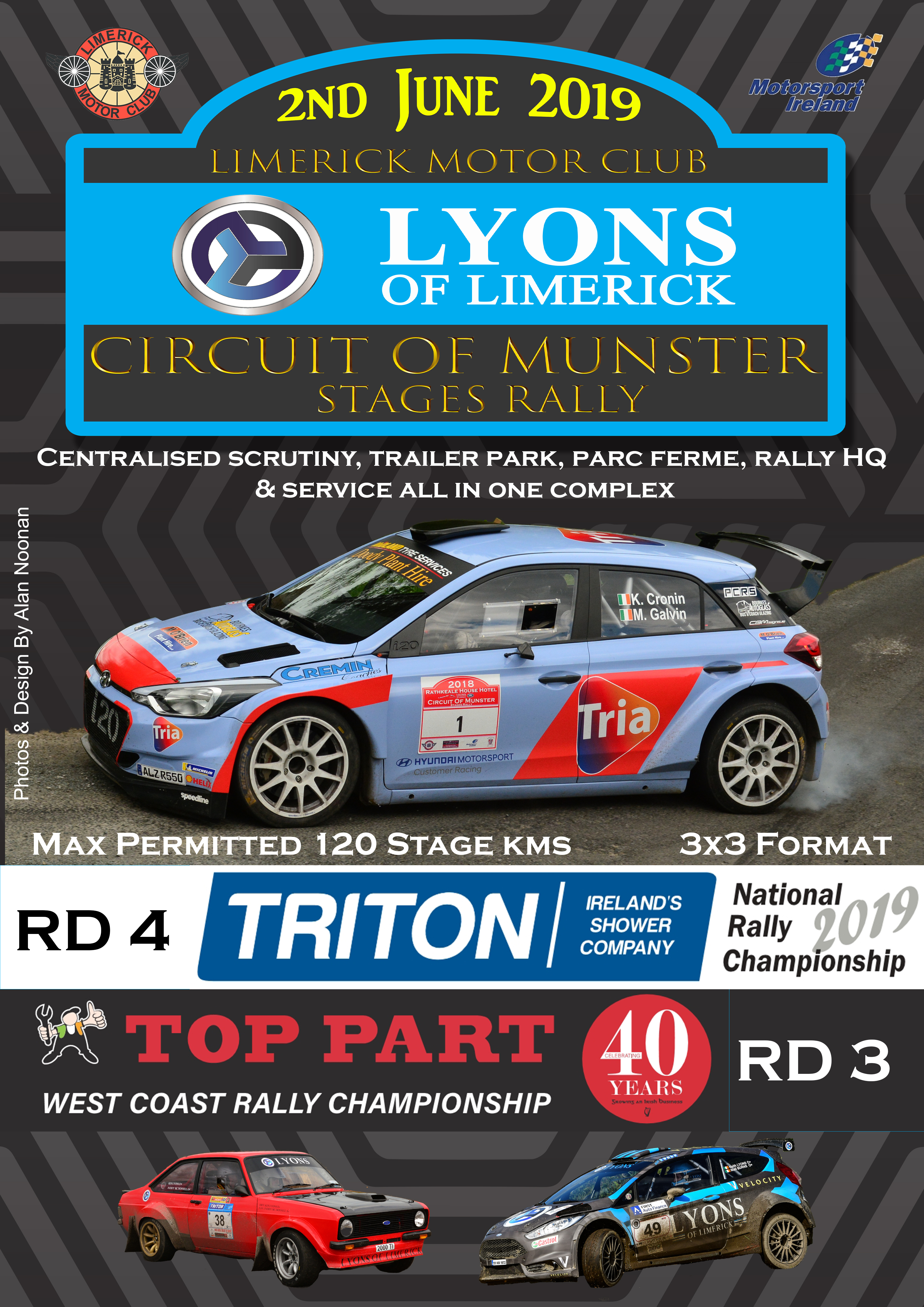 2019 Circuit of Munster flyer