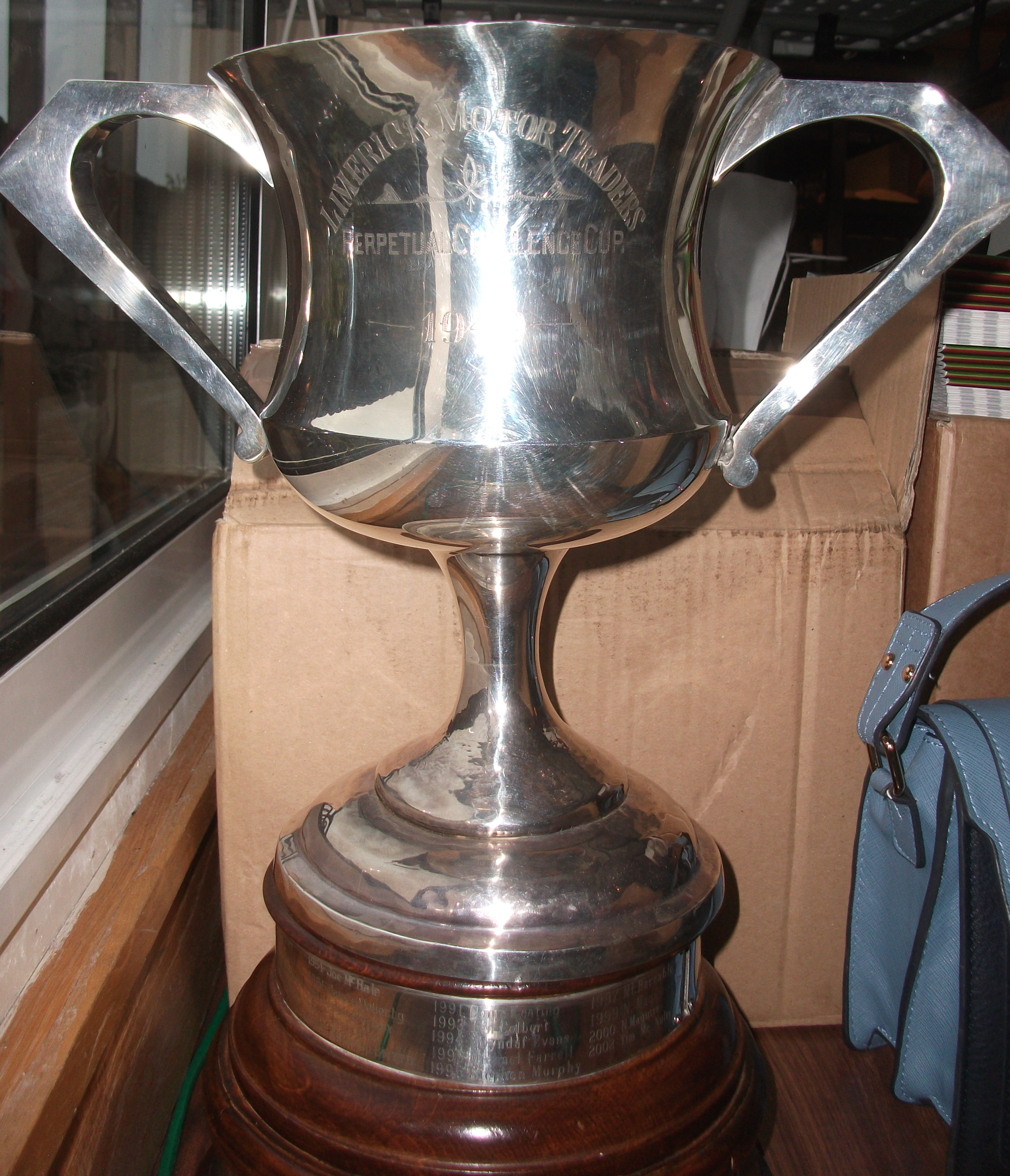 Limerick Motor traders Cup 1949
