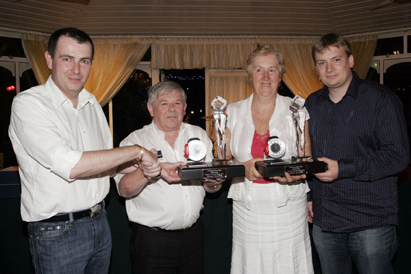 Overall winners and event sponsors