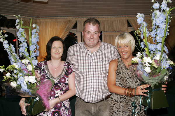 Angela Fitzgerald,Ger Healy and Jennifer Healy